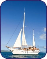 Classic sailing in the Whitsundays