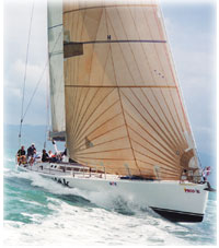Maxi Sailing in the Whitsundays